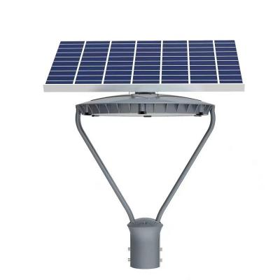 garden light with solar panel